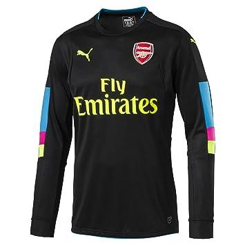 3d6bd3bd5c1 Puma Childrens Kids Football Soccer Arsenal Home Goalkeeper Shirt 2016-2017  - 11-12