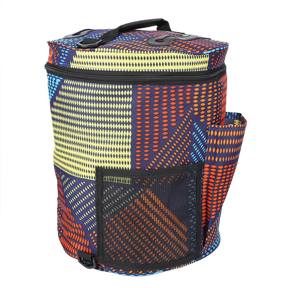 Delaman Knitting Bag Portable Wool Storage Bag Knitting Yarn Holder Organizer for Tangling Preventing Arts, Crafts & Sewing Knitting & Crochet