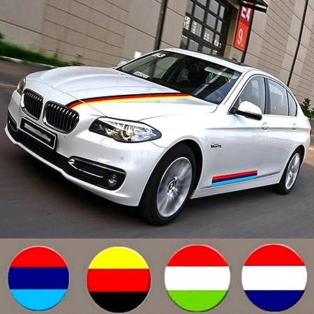 Pegatina de bandera nacional para coche, diseño de bandera de Alemania, Italia, Francia, 1 metro: Amazon.es: Productos para mascotas