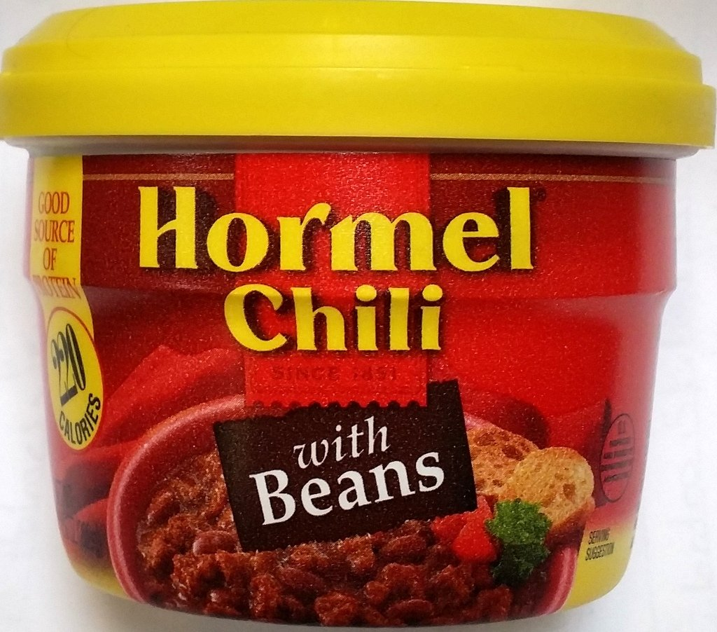 Hormel Chili with Beans Microwave Cup 7.38 Oz (Pack of 6)