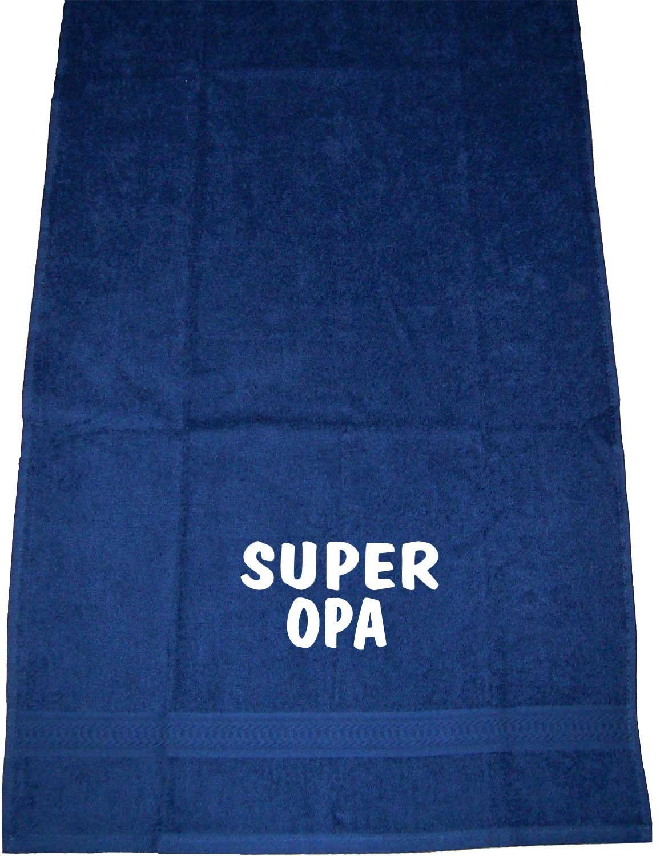 ShirtShop-Saar Super Opa; Handtuch