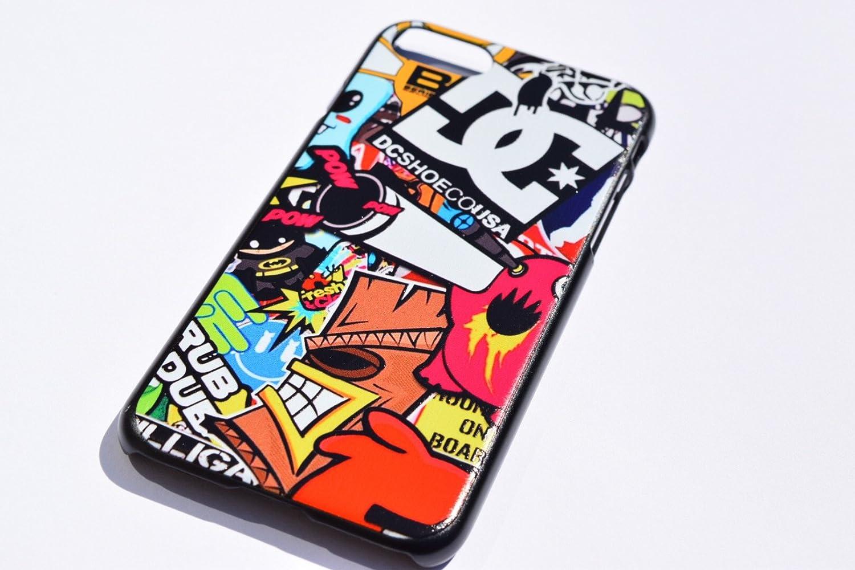 e9a770f4c5 Amazon | ボム ステッカー ロゴ大 iPhoneケース シリコン ホットウィール DC ロックスター アベンジャーズ スーパーマン  iPhone6 / iPhone6s /iPhone6plus ...