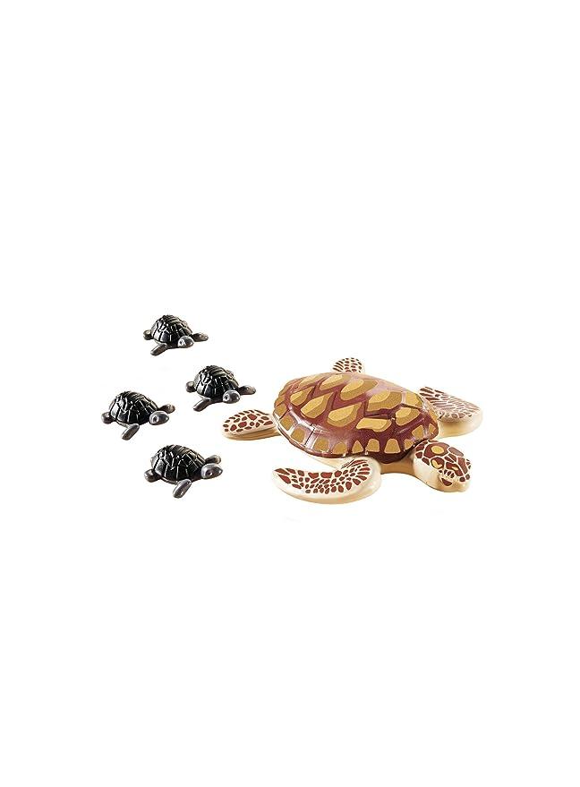 Playmobil-9071 Tortuga con Bebés, (9071): Amazon.es: Juguetes y juegos