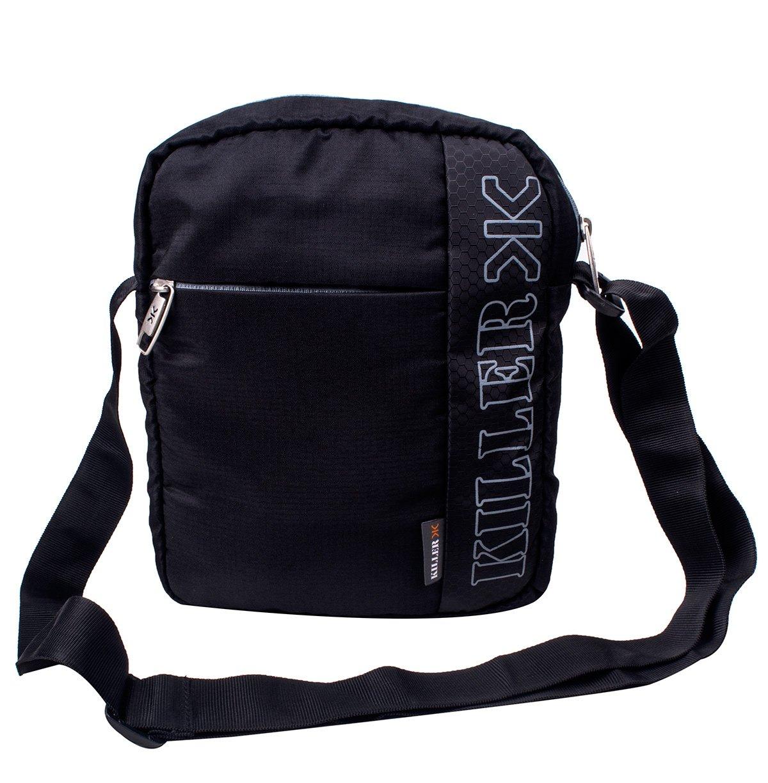 Killer KLC-PC-90001-01 Men Entizo 10-Inch Traveler Sling Bag (Black) product image