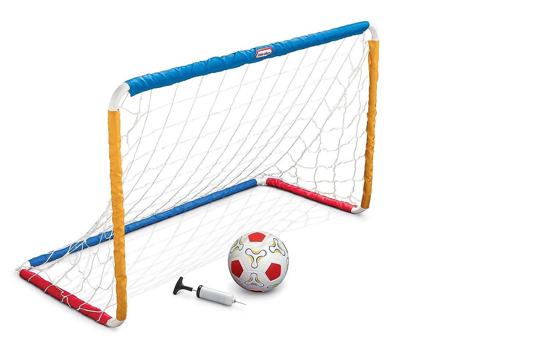 amazon com little tikes easy score soccer set primary colors