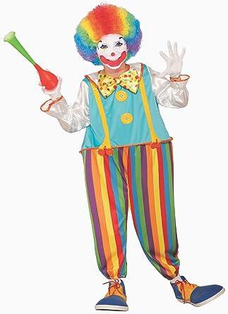 Forum Novelties Disfraz de Payaso de Circo Tonto para niños ...