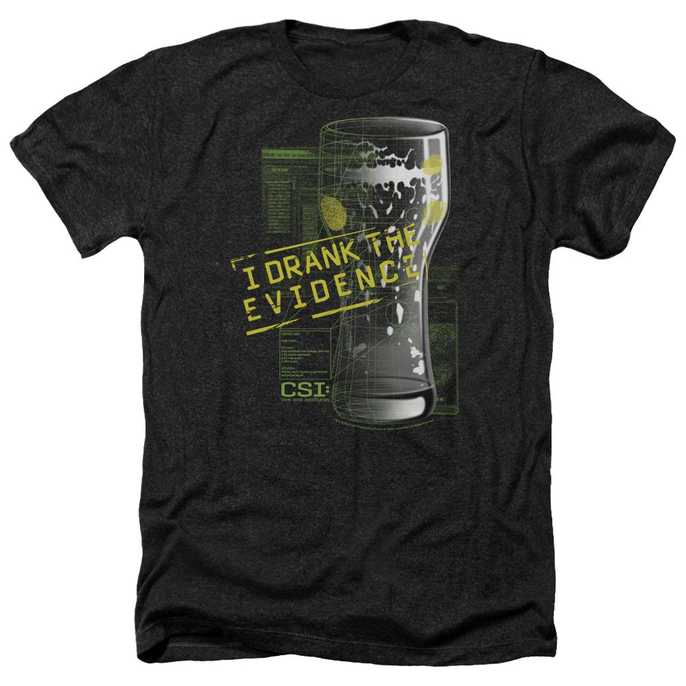 Trevco Mens Csi Do Not Cross Adult T-Shirt
