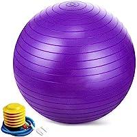Jasonwell Pelota Pilates Pelota de Resistencia estática con Bomba para Ejercicios de Estabilidad Ejercicio y Bola de…