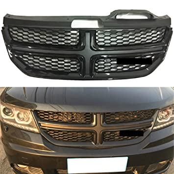 Parrilla delantera para radiador Dodge Journey 2013 – 2016, color negro