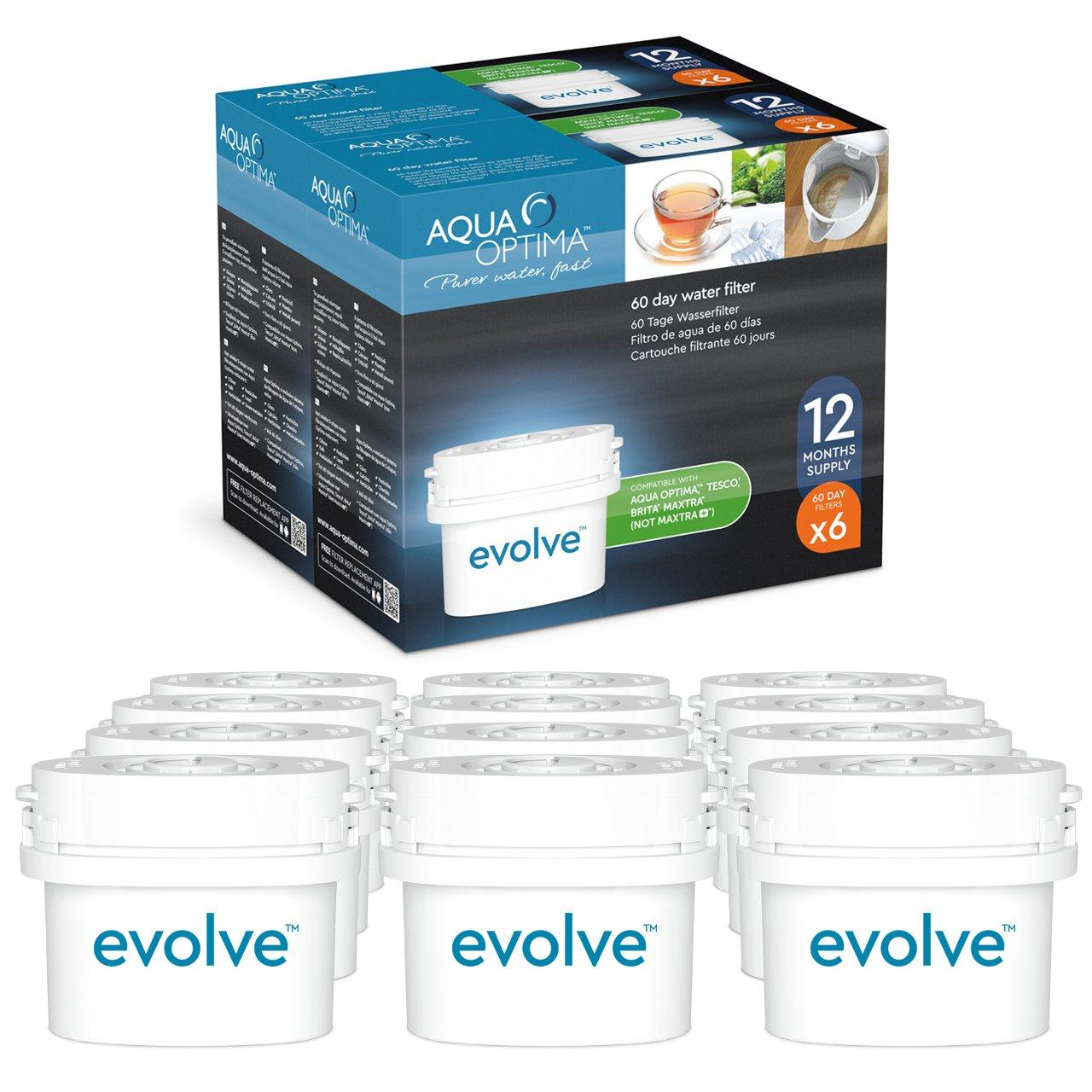 Paquete de años Aqua Optima Evolve filtros de agua de x días