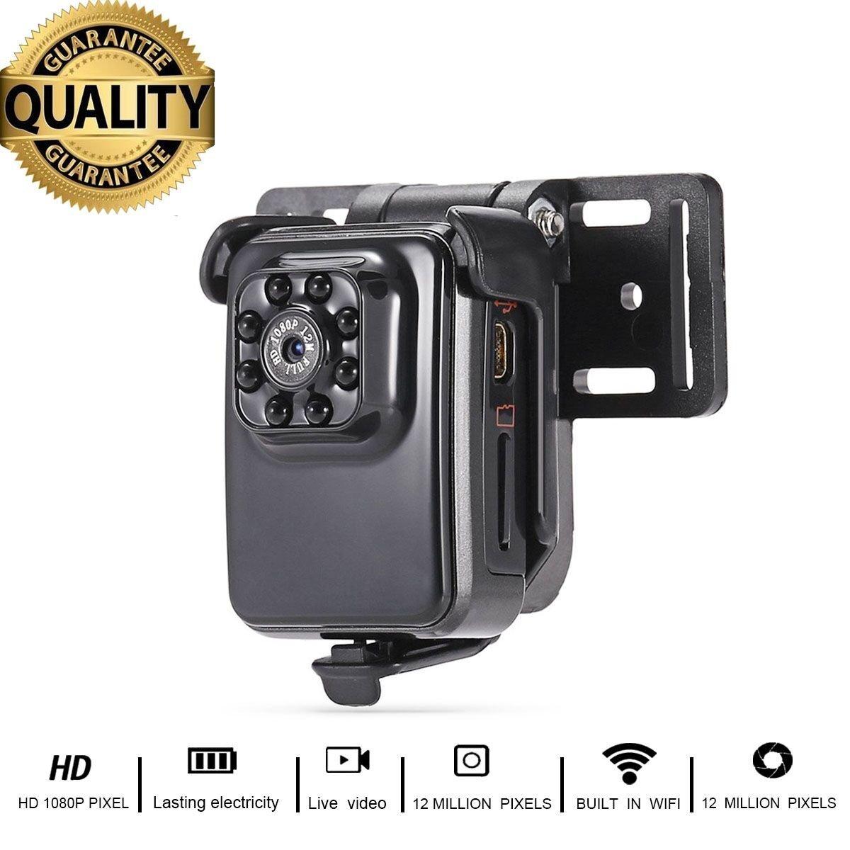 Mini Caméra R3 WIFi HD Caméscope avec vision nocturne 1080p Sports Mini DV Video Recorder HankerMall