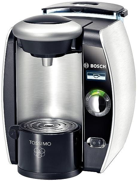 Bosch TAS8520 Máquina de café en cápsulas 1.8L Plata - Cafetera (Máquina de café