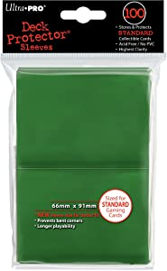 Ultra Pro- Fundas para Cartas, Color Verde (82693)