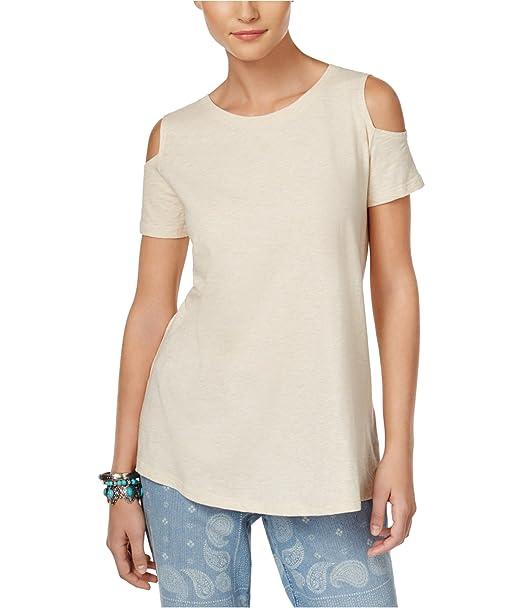 Cotton Cold-Shoulder T-Shirt Style /& Co