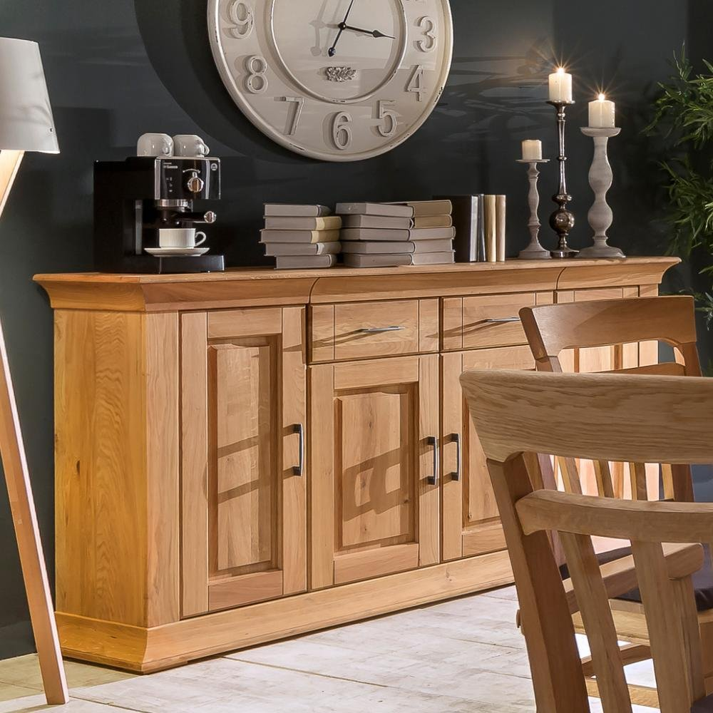 BFK Möbel Collection Beverly Anrichte  Holz braun 42.5x180x95.5 cm