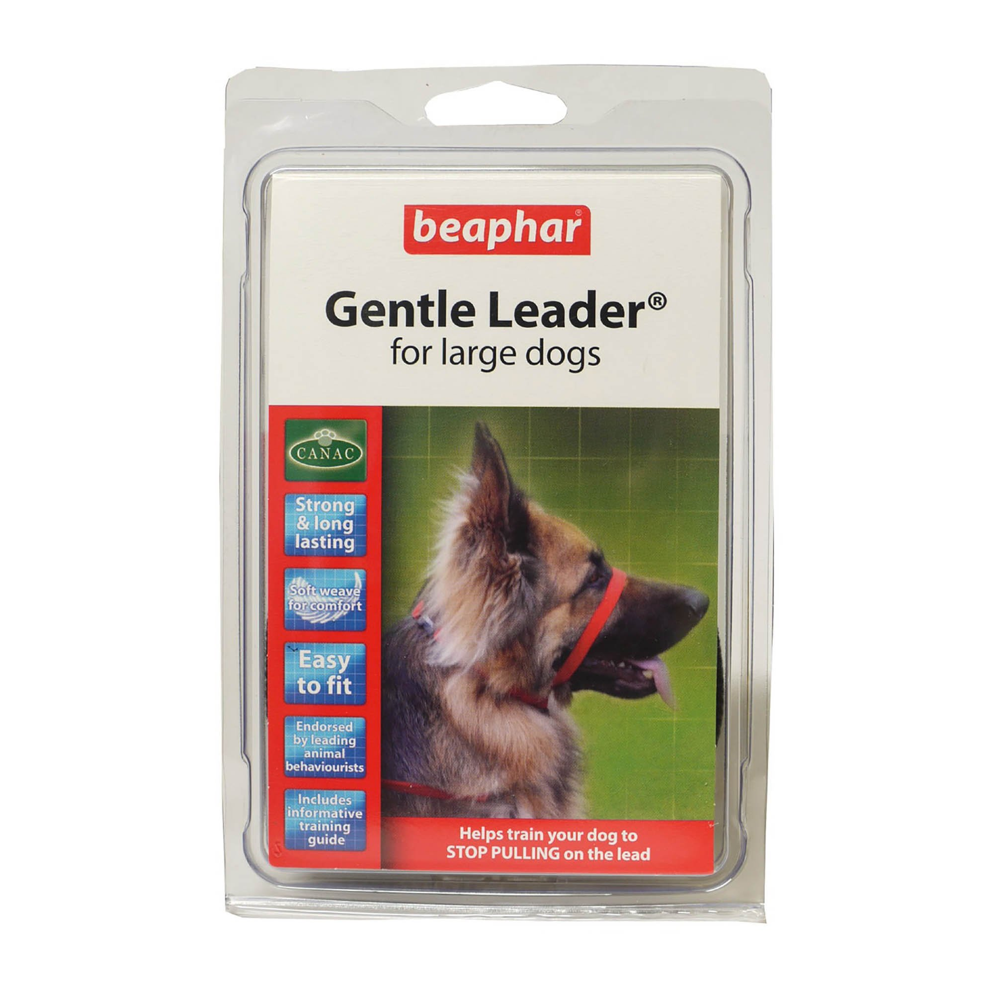 Beaphar Dog Gentle Leader (Small) (Red)