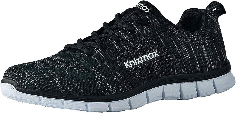 Knixmax-Zapatillas Deportivas para Mujer, Zapatillas de Running Fitness Sneakers Zapatos de Correr Aire Libre Deportes Casual Zapatillas Ligeras para Correr Transpirable, 36-41EU