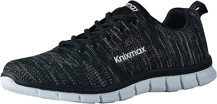 Knixmax-Zapatillas Deportivas para Mujer, Zapatillas de Running Fitness Sneakers Zapatos de Correr Aire Libre ...