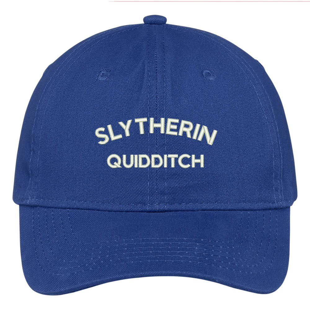 Trendy Apparel Shop Slytherin Quidditch Embroidered Soft Cotton Adjustable Cap  Dad Hat - Black at Amazon Women s Clothing store  5ac4eac50b5