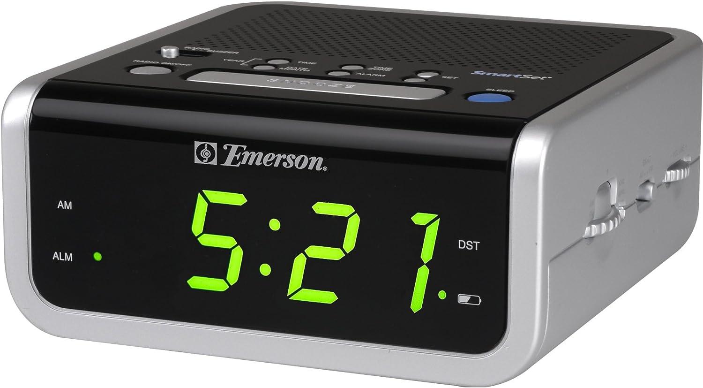 emerson smartset alarm clock manual best setting instruction guide u2022 rh ourk9 co Emerson Smart Set Alarm Clock Emerson Smart Set Alarm Clock