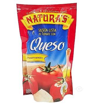 NATURAS Cheese Salsa Con Queso Sauce, 8 oz, 6 Piece