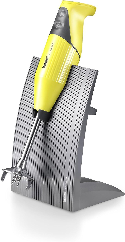 bamix SwissLine Stabmixer Edelstahl rostfrei 12/x 6/x 35 cm Edelstahl gelb 12 x 6 x 35 cm 200 watts