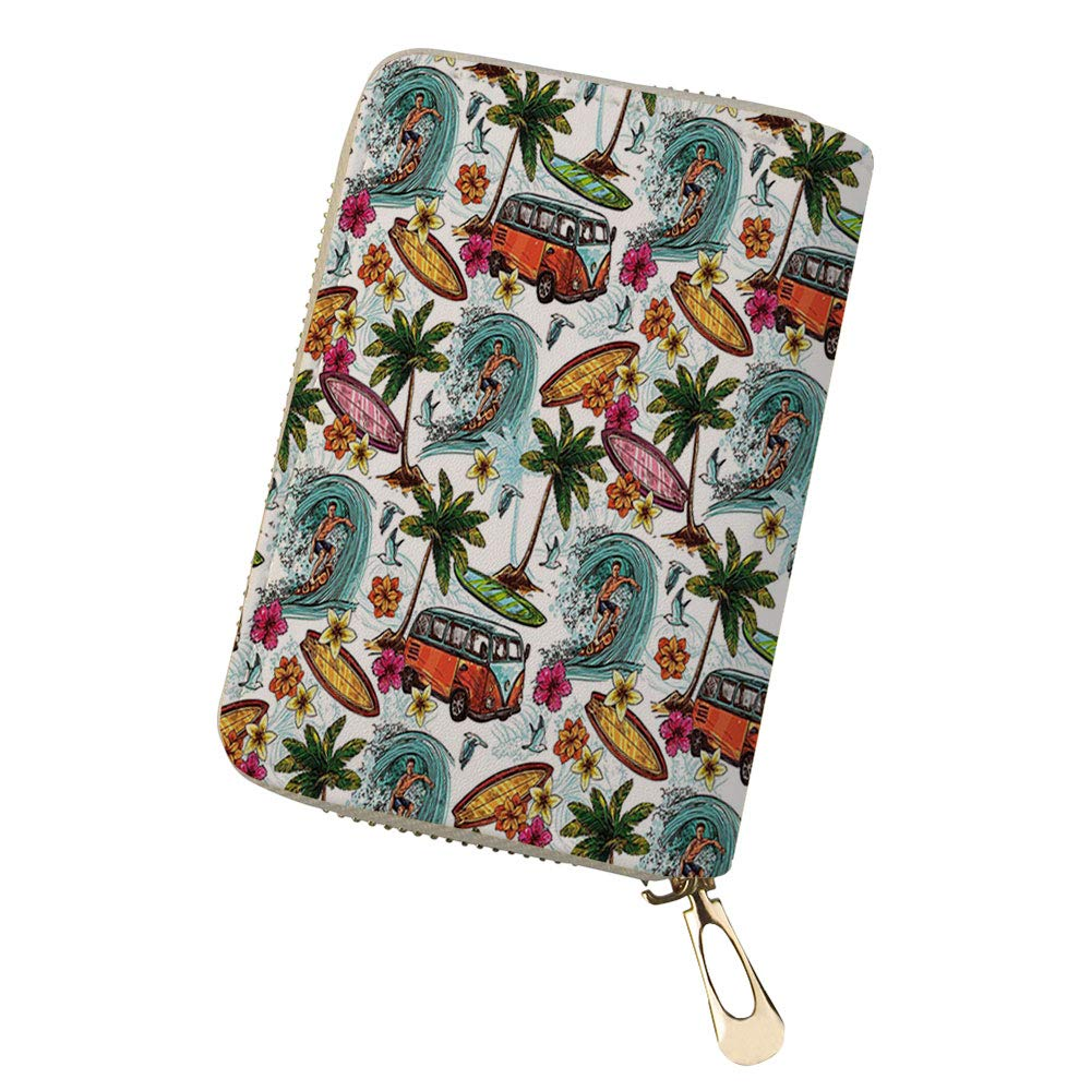 Credit Card Holder Wallets le in Fresh Water for Ladies Girls//Gift Box