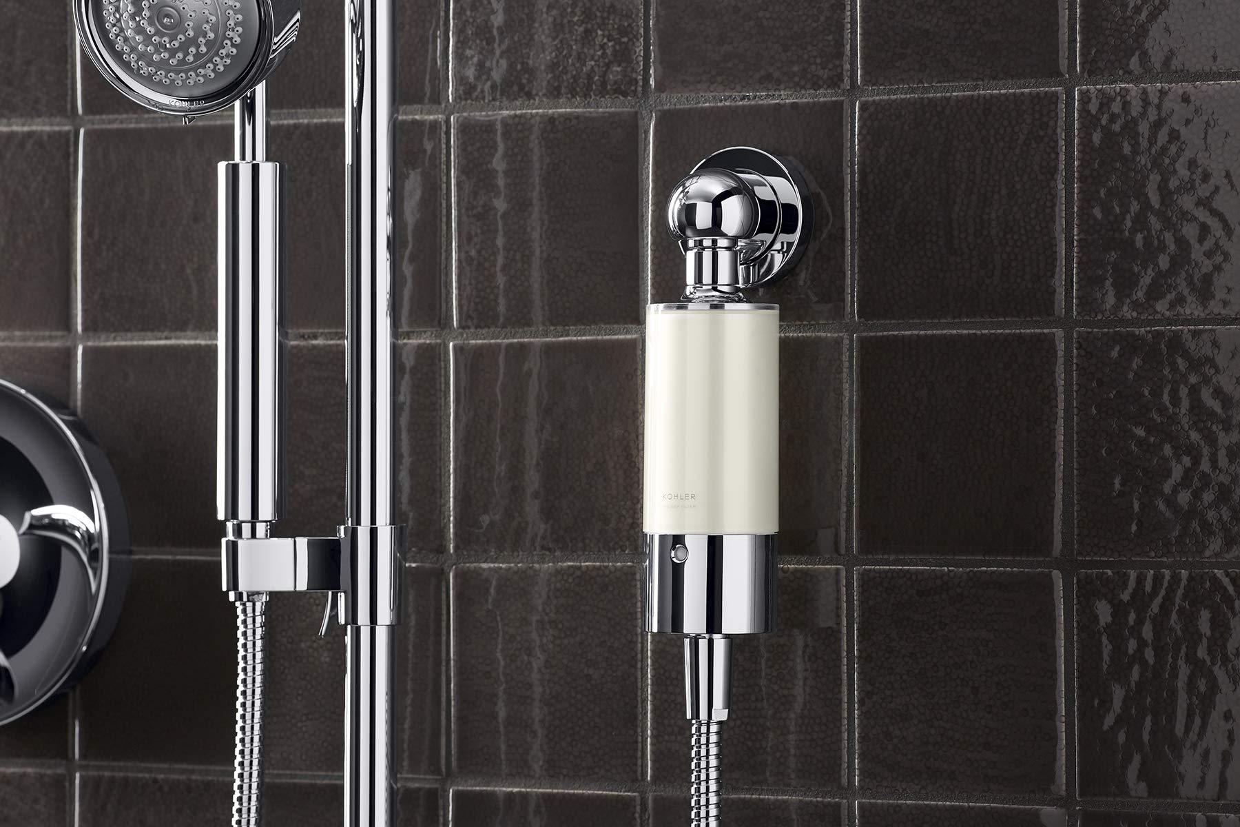 Kohler 30646-CP Aquifer Shower Water Filtration System, Reduce Chlorine and Odor, Includes Filter Replacement by Kohler (Image #3)