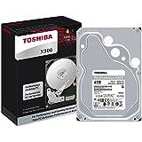Toshiba X300 4TB Performance Desktop Gaming Hard Drive 7200 RPM 128MB Cache SATA 6.0Gb/s 3.5 inch Internal Hard Drive (HDWE140XZSTA)