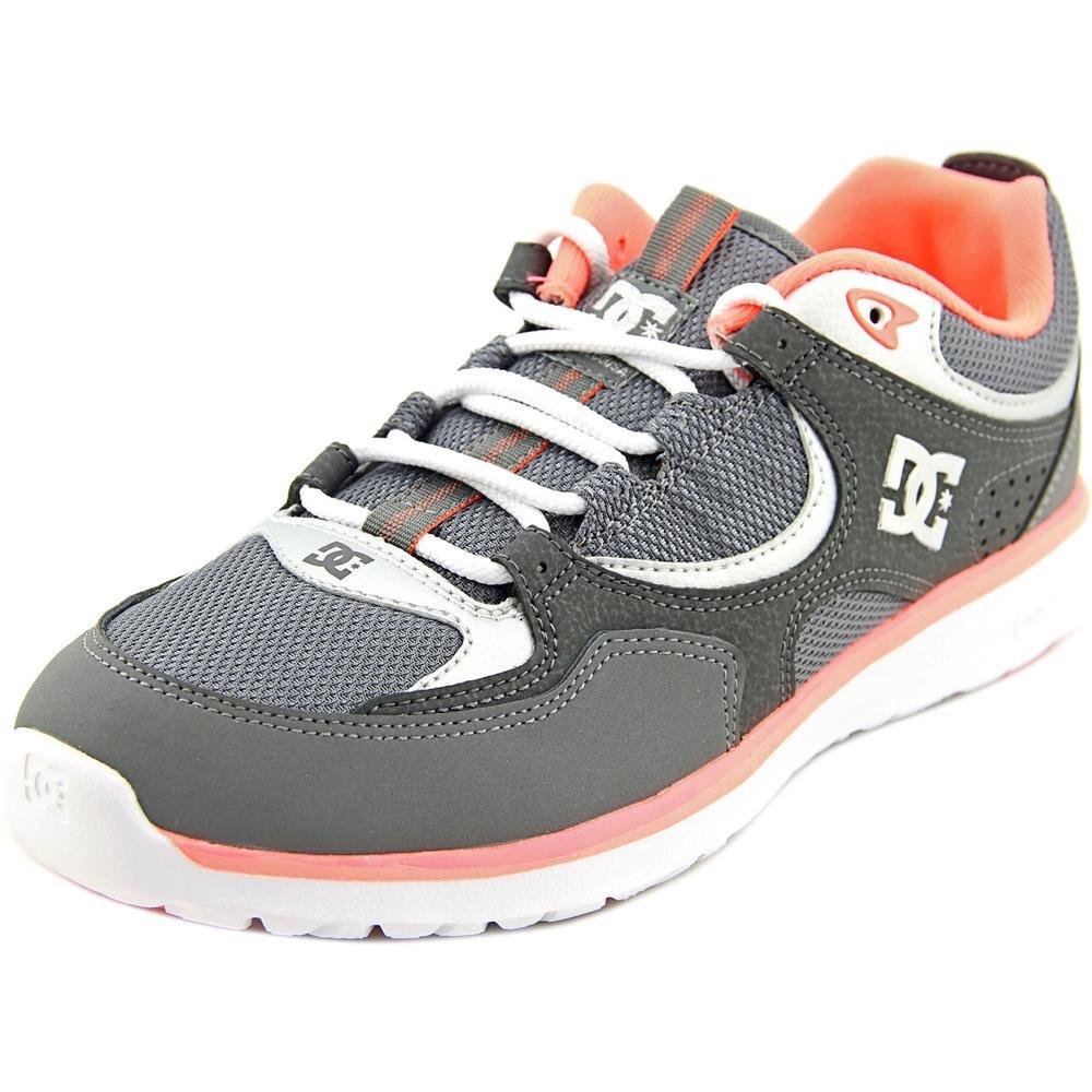 DC Shoes Kalis Lite Round Toe Leather Skate Shoe (Little Kid/Big Kid)