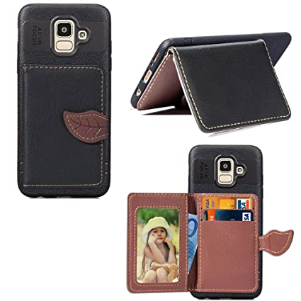 cheap for discount edb52 640be Amazon.com: Torubia Samsung Galaxy J6 2018 Flip Cover, Case, Anti ...