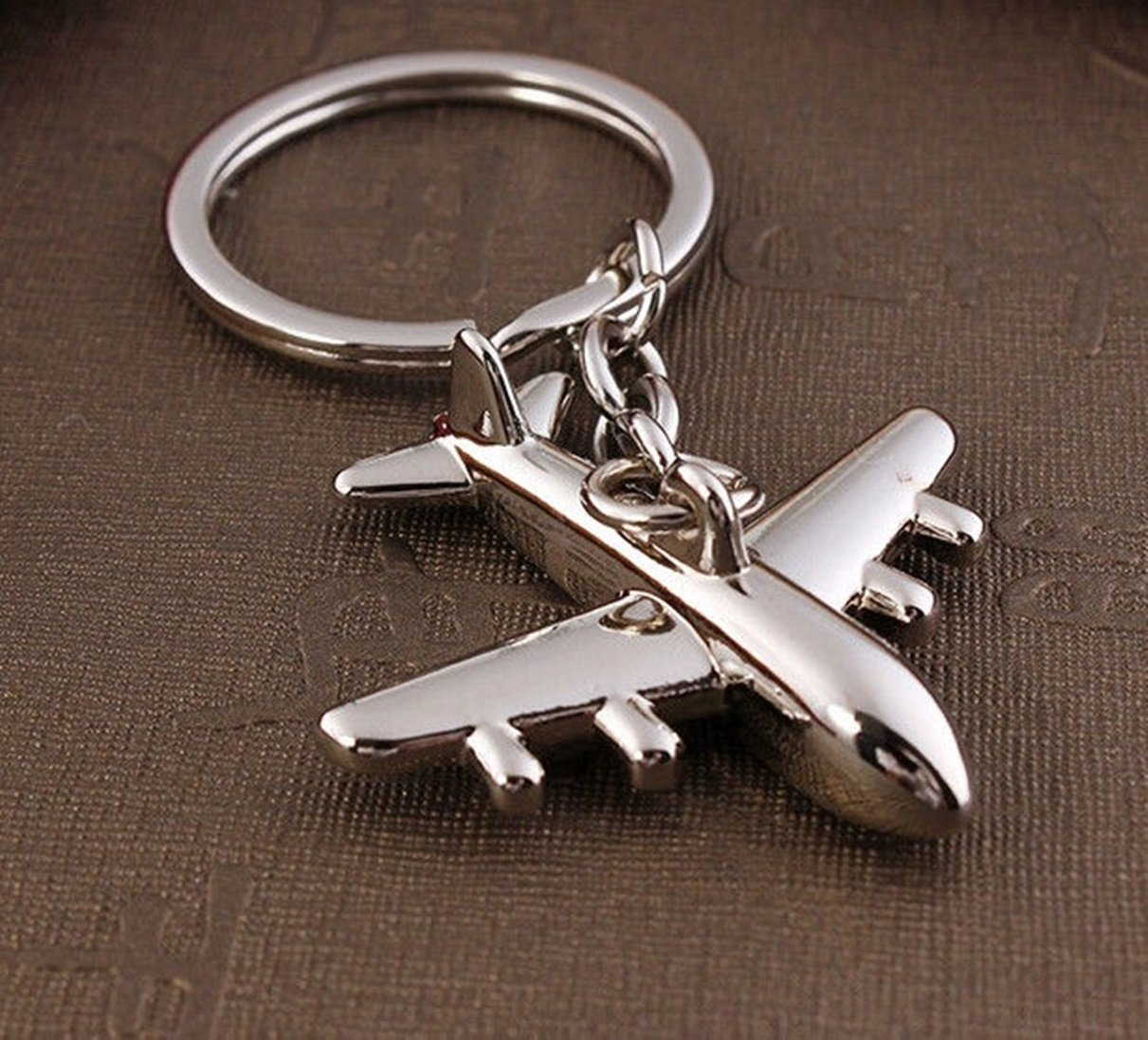 1 Pc Lavish Unique Mini Pocket Creative Aircraft Air Aviation Plane Airplane Cute Bottle Opener Women Teen Gift Color Silver by Chiam-Mart