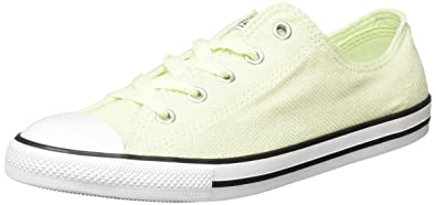 394966975418 Converse Dainty Ox Womens Canvas Trainers Light Green - 7 UK  Amazon ...