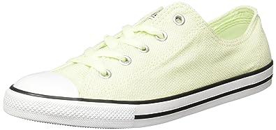 394966975418 Converse Dainty Ox Womens Canvas Trainers Light Green - 7 UK  Amazon ...
