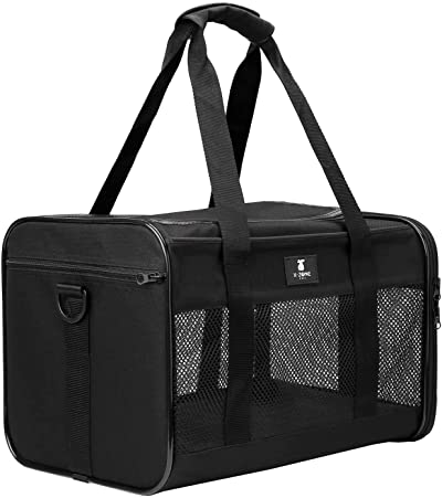 X-ZONE PET Airline Approved Soft-Sided Pet Travel Carrier