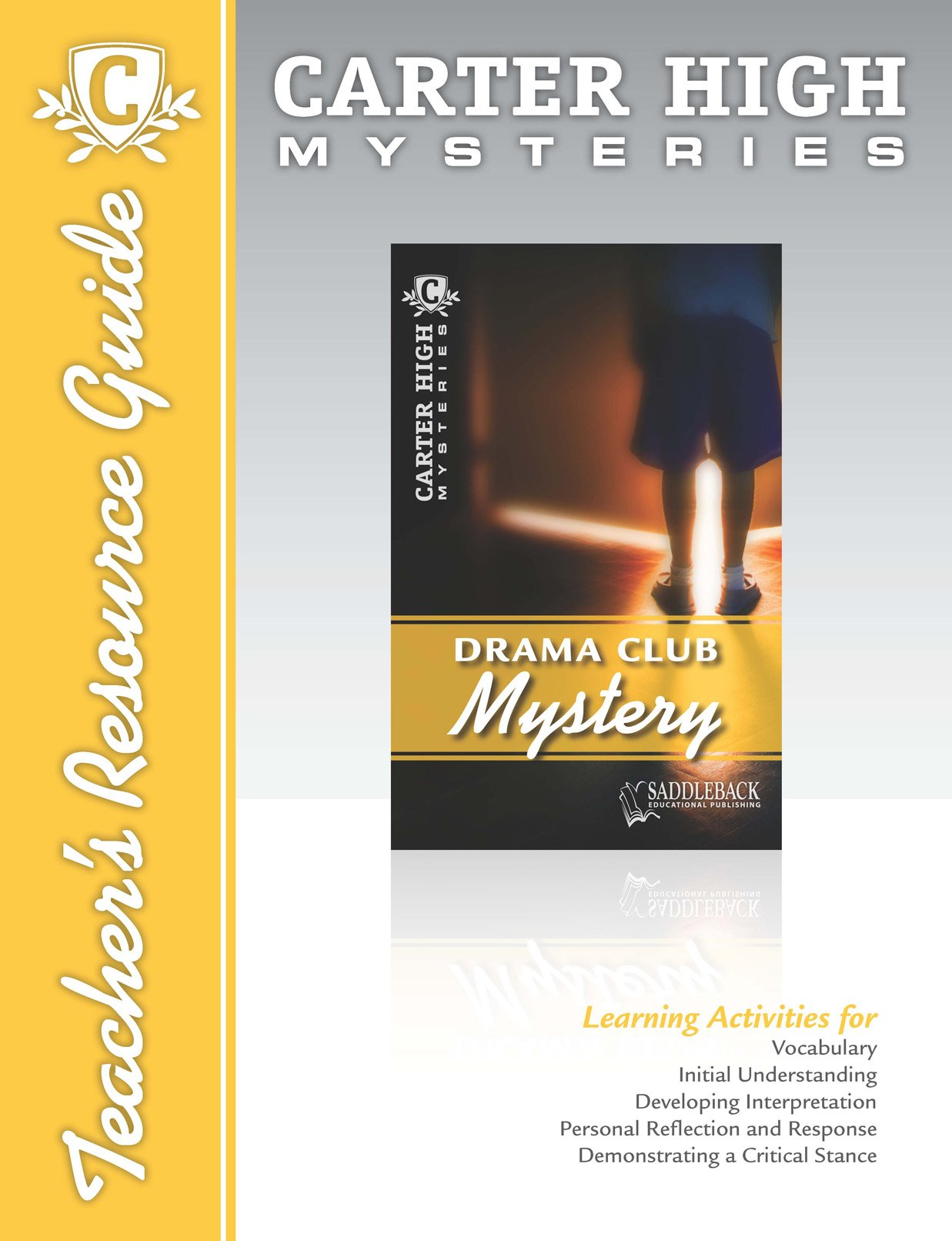 Drama Club Mystery Teachers Resource Guide CD (Carter High Mysteries)