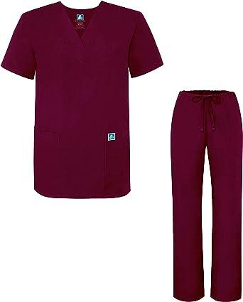 Adar Uniforme Médico Unisex con Casaca y Pantalones - 701 Color ...