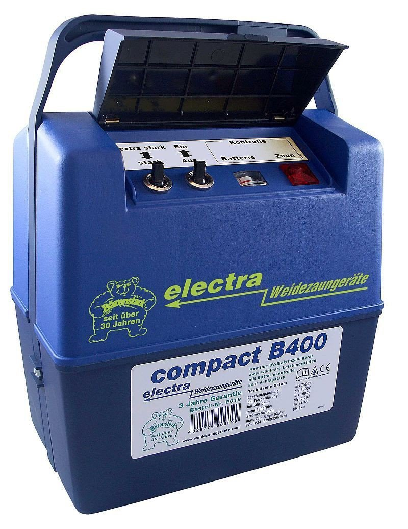 Electra compact B400 Electric-Powered device