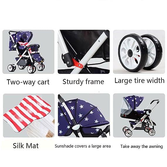 El Carrito De Conveniencia Plegable De Baby Stroller Summer Baby Puede Estar En El Avión,F: Amazon.es: Hogar