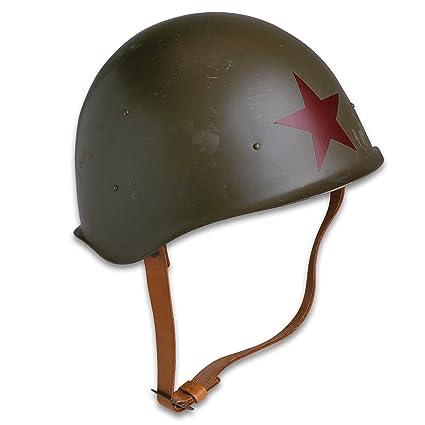 1242ab4631f Genuine Soviet Russia Red Army M52 Helmet - World War II Style Military  Surplus -