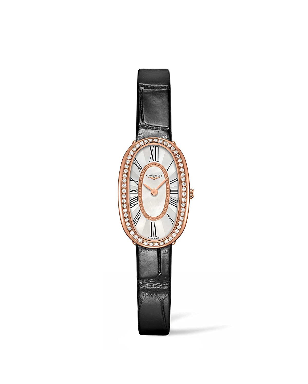 Longines Symphonetteレディース18 Kゴールドダイヤモンド腕時計l2.305.9.81.0 B01DE115GY