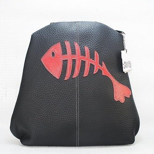 Mochila de piel negra Rasp, mochila de cuero. Mochila Arteycuero