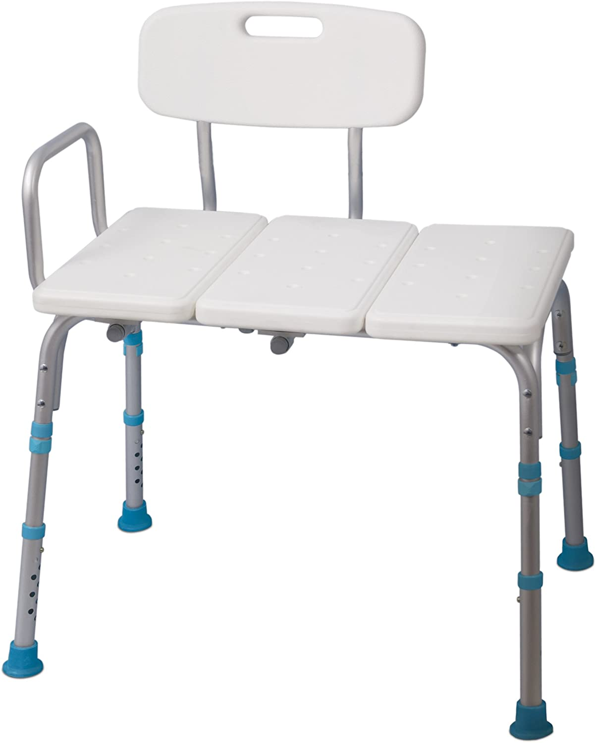 Aquasense Adjustable Bath and Shower Transfer Bench with Reversible Backrest 71r9qK52RBLSL1500_