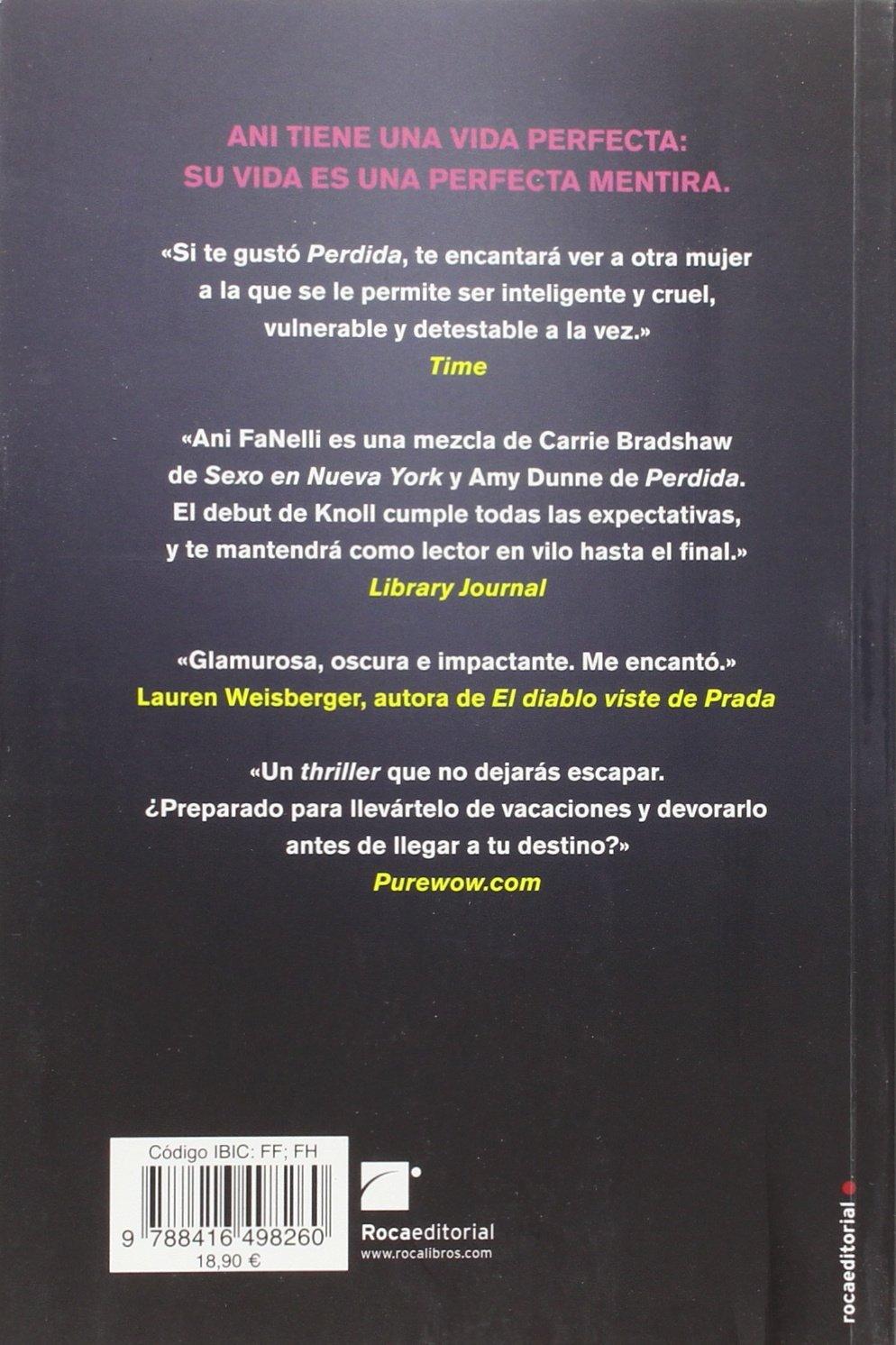 La chica que lo tenia todo (Spanish Edition): Jessica Knoll: 9788416498260:  Amazon.com: Books