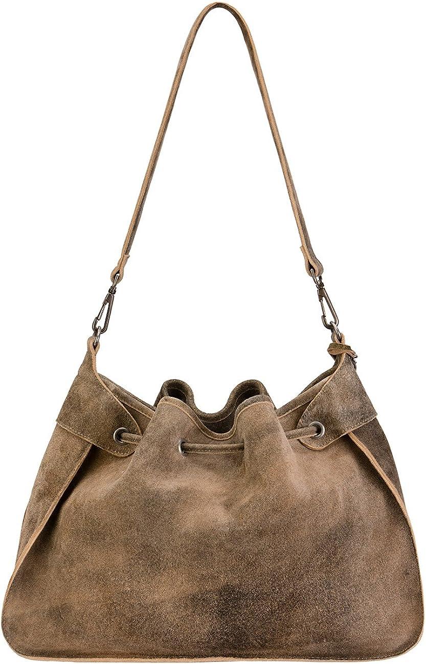 11 x 28 40 cm Braun Stockerpoint T5010 Hanf Women/'s Shoulder Bag wxhxd Hanf