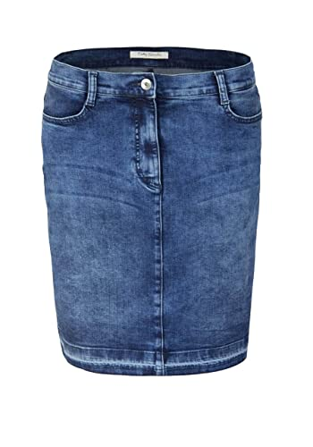 BETTY BARCLAY Rock Denim Stretch used dunkelblau