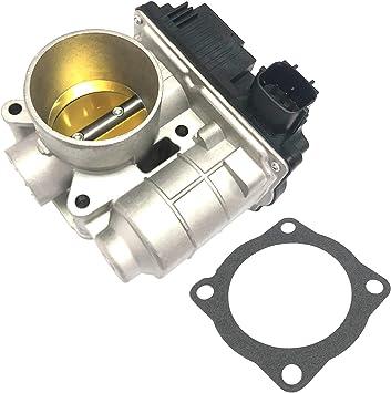 Replaces 16119-AU00C 16119AU00C APDTY 16119AU003 Throttle Body Assembly With Throttle Actuator TPS Sensor /& IAC Idle Air Control Valve Fits 2002-2006 Nissan Sentra w// 1.8L Engine