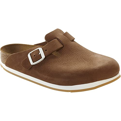 BIRKENSTOCK 259961 Boston NU SFB Softy Brown Normal Brown