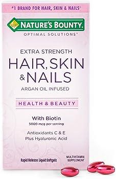 Best Hair Skin and Nail Vitamins