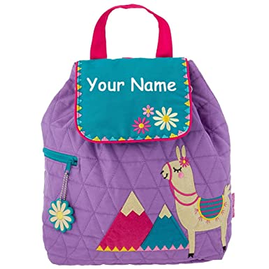 Stephen Joseph Personalized Llama with Mountain Peaks Quilted Backpack with  Name 40d2056849222